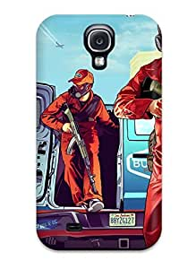 High Impact Dirt/shock Proof Case Cover For Galaxy S4 (grand Theft Auto Gta V)