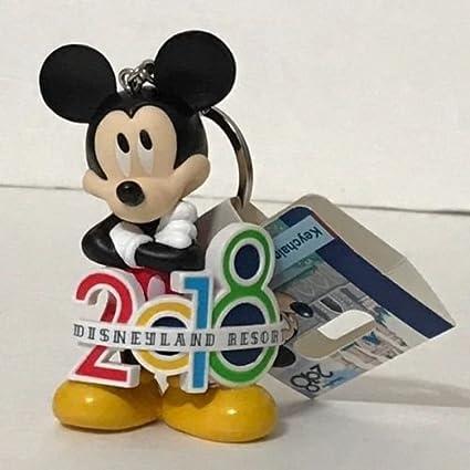 Disneyland Resort Mickey Mouse de 2018 figura llavero el año ...