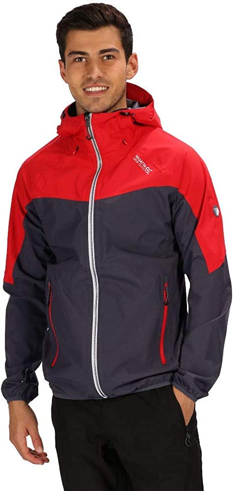 Regatta Imber Iv Waterproof And Breathable Lightweight Hooded Active Hiking Shell Chaqueta Hombre