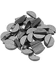 Woodruff Key - 50Pcs 45# Steel Semicircle Bond Woodruff Key Kit Accesorios 22 * 9 * 5mm