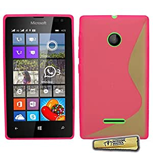 Maestro de accesorios 5055907856040 Gel de Silicona TPU Microsoft Lumia 532 Rosa