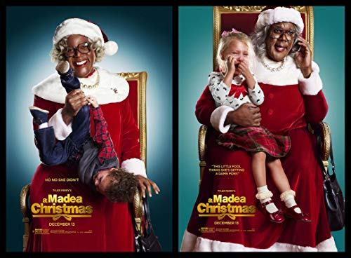 A Madea Christmas 19inch x 14inch Silk Poster Wallpaper Wall Decor Silk Prints for Home and Store (Poster Madea Christmas A)