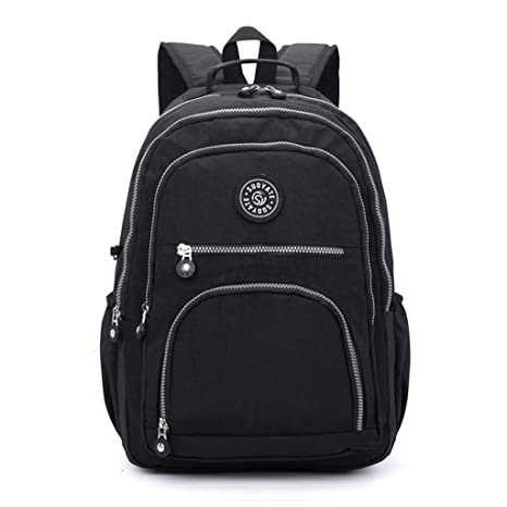 e2587f554d21 Amazon.com: MaxFox Women Men Fashion Large Capacity Backpack Nylon ...
