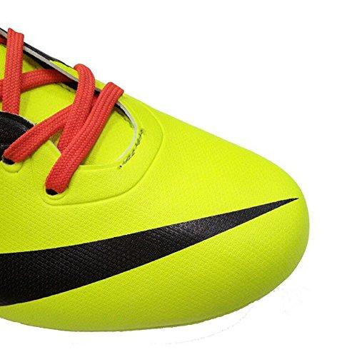Mr. LQ - Zapatillas de combate de fútbol para adultos y zapatos de entrenamiento Yellow
