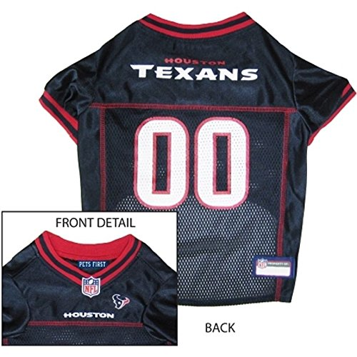 HOUSTON TEXANS Dog Mesh Jersey ALL SIZES Licensed NFL - Dog Texans Houston Collar