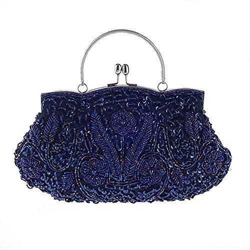 RainRR RainRR femme Pochette Pochette femme pour pour Bleu RainRR Bleu ZwBxqpt5Xw