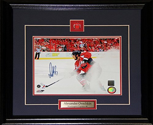 Midway Memorabilia Alexander Ovechkin Washington Capitals Signed 8X10 Frame