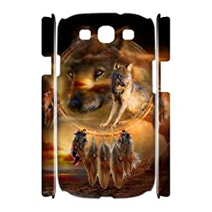 PCSTORE Phone Case Of Wolf Dream Catcher For Samsung Galaxy S3 I9300