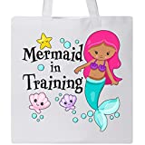 Inktastic - Mermaid in Training Tote Bag White 2ef7f