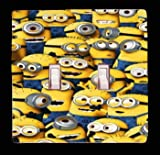 Dispicable Me Minions Double Toggle Light Switch Cover (2x Toggle Light Switch Cover)
