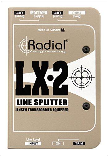 Radial Engineering LX-2 Passive Line Splitter & Attenuator