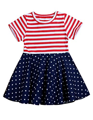 Toddler Baby Girls 4th of July Summer Outfit