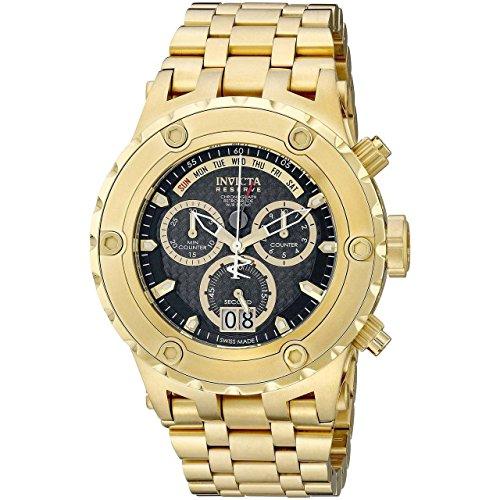(Invicta Men's 14468 Subaqua Quartz Chronograph Black Dial Watch.)