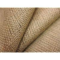 ELYSIAN™ Hessian Cloth/Burlap Fabric Roll for DIY Crafts Home Decor Natural 1 mtr, 39 inch