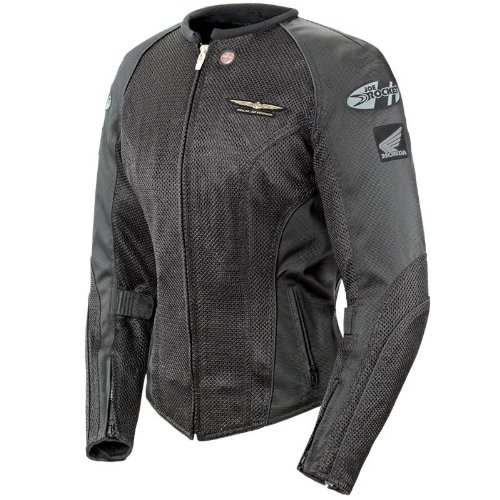 Joe Rocket Goldwing Ladies Mesh Skyline 2.0 Motorcycle Jacket black/black large Goldwing Skyline Mesh Jacket