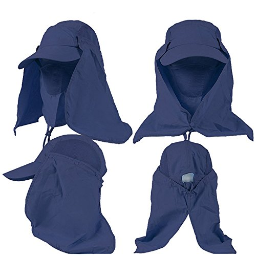 meiliio-camping-hat-sport-quick-drying-breathable-removable-outdoor-fishing-traveling-neck-flap-sun-protection-windbreak-mosquito-for-men-women-dark-blue