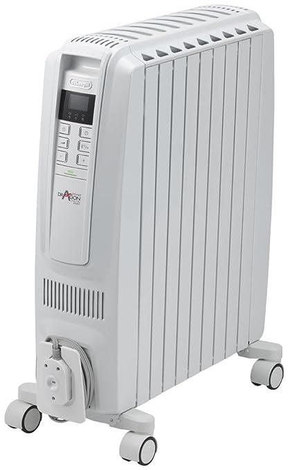デロンギ オイルヒーター ドラゴンデジタル スマート X字型フィン9枚 【10~13畳用】 ピュアホワイト + ホワイト QSD0915-WH