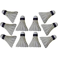 SONU Sports CO. Feather Badminton Shuttlecock (Pack of 10)