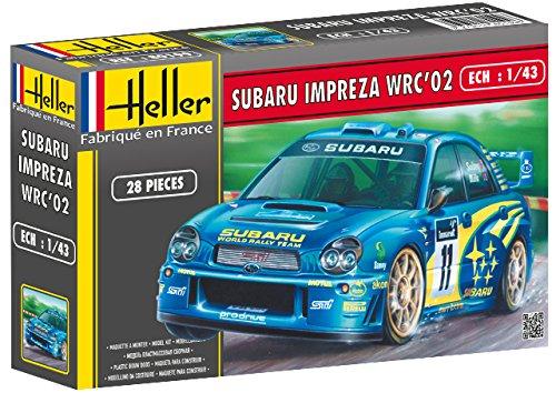 Heller - 80199 - Construction Et Maquettes - Subaru Impreza Wrc '02 - Echelle 1/43ème