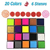 Rubber Stamps Pad Ink Pad Stamps DIY Colors