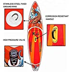 DIMPLEYA-SUP-Paddle-Board-SUP-Gonfiabile-Schede-6-Pollici-di-Spessore-per-I-Giovani-Adulti-Colore-Arancione-Dimensioni-115x