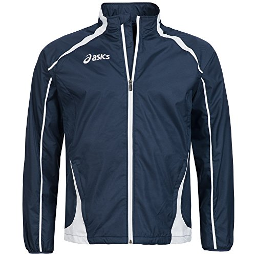 Atletica Antivento Unisex T245z6 Blu Giacca Full Running Asics Zip Colin FwxqnvTZ