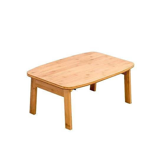 Mesa Plegable de bambú de la Cama portátil, Escritorio Simple ...