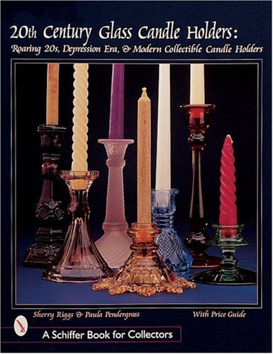 20th Century Glass Candle Holders: Roaring