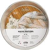 DECORA 0060820 Ruoto per Pastiera, Bagna Stagnata, Argento, 20 cm
