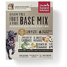 Honest Kitchen The Grain Free Fruit & Veggie Base Mix Recipe for Dogs, 7 lb box - Preference