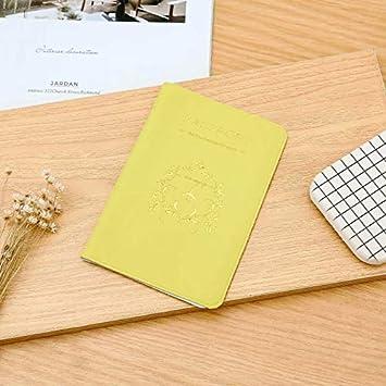 LINSUNG Nuevo estuche protector de titular de tarjeta de identificación de pasaporte de utilidad de viaje simple Cortex