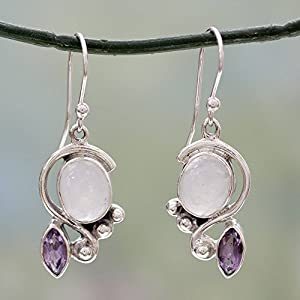 Moonstone Earring