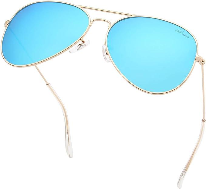 Amazon coupon code for Classic Polarized Aviator Sunglasses UV Mirrored Lens