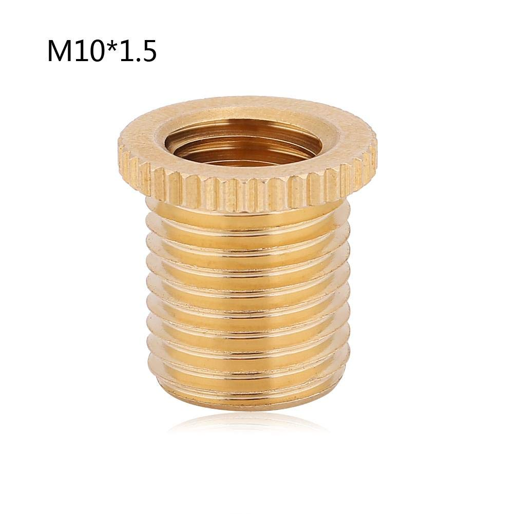 M8x1.25 M10x1.5 Fydun Shift Knob Universal Car Auto Gear Stick Shift Shifter Knob Head Thread Screw Adapter with Sizes of M10x1.25 8 * 1.25
