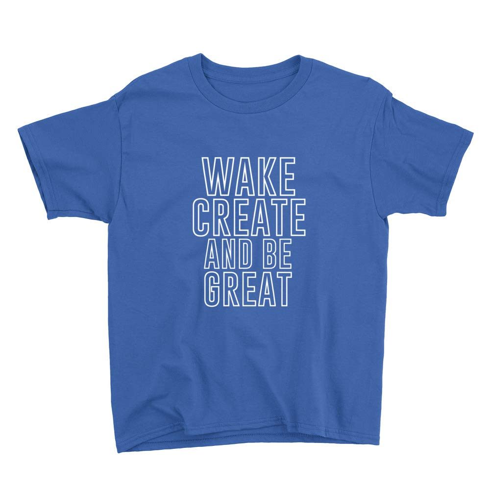 Venley Wake Create and Be Great Youth T-Shirt