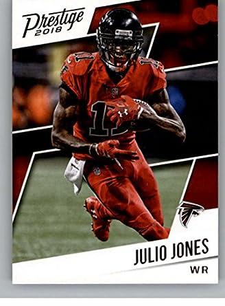 reputable site 3ee21 d6be8 Amazon.com: 2018 Prestige NFL #52 Julio Jones Atlanta ...