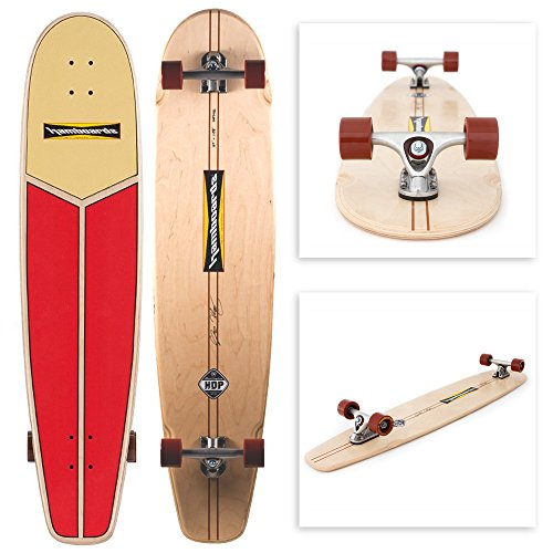 Hamboards Huntington Hop Skateboard (Canvas Surf Rider)