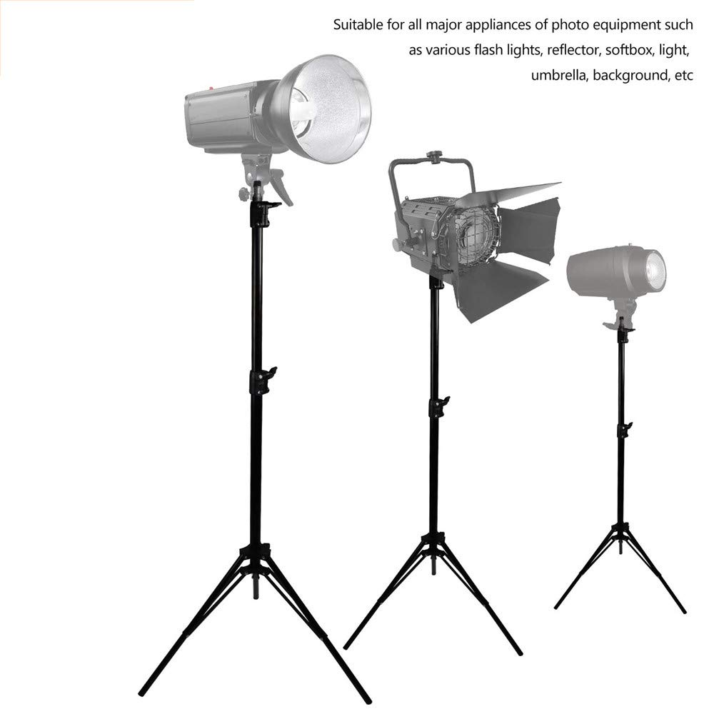 110//9 Feet//280CM Aluminum Alloy Portable Collapsible Heavy Duty Tripod Stands for Relfector,Softboxes Photography Light Stand Background,Photo Studio /& Video Lighting Light,Umbrella