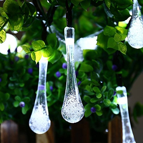 Review Icicle Solar String Lights,