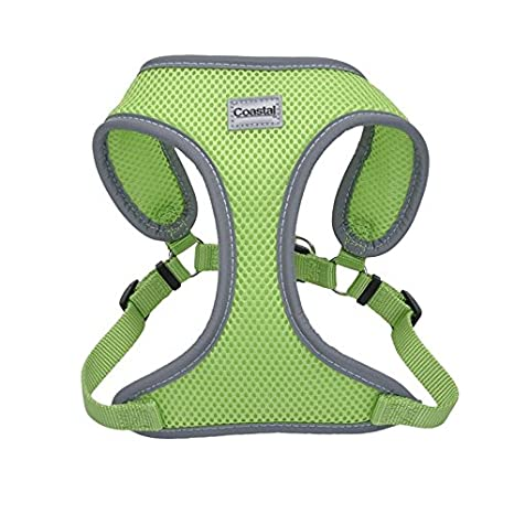 Coastal Comfort Soft Mesh Step in Harness Lime