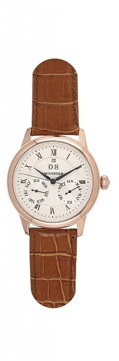 Minister automatico-8554 Reloj hombre de pulsera automatico-: Amazon.es: Relojes