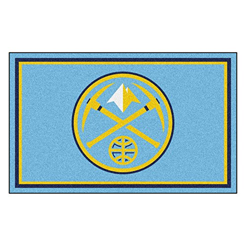 FANMATS 20425 44''x71'' Team Color NBA - Denver Nuggets Rug by Fanmats