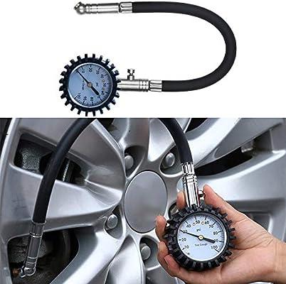 S-Wang Medidor Digital de presión de neumáticos 100 PSI para Coche ...