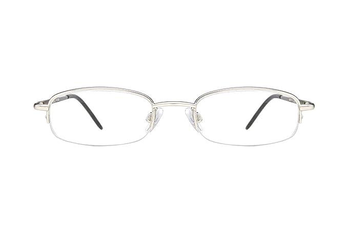 Amazon.com: Arlington Eyewear AR1005 Eyeglass Frames - Matte Silver ...