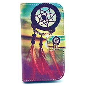 For Samsung Galaxy Ace 3 S7270 S7272 S7275 Case , IVY Mascot Graphic, Cute Fashion Magnetic Snap Synthetic Leather Wallet Card Flip TPU With Stand Cover Case For Samsung Galaxy Ace 3 S7270 S7272 S7275