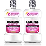 Listerine Sensitivity Mouthwash, Fresh Mint, 500 mL, 2 Count