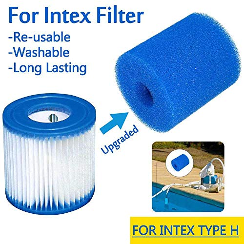 benefit-X Pool Filter Cleaning Equipment Foam 3 Sizes Pool Cleaner Backup Filter Parts Reusable Foam Box Pool Hose Tail Scrubbers Pool Cleaner Parts