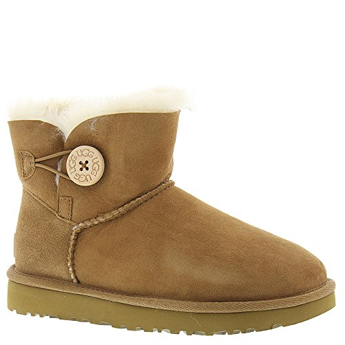 Scarpe Chestnut a Mini Donna UGG Button Australia Bailey Alto Collo qxOIw7aC
