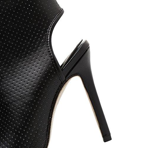 girare black Street alto esposto a Sandali tacco ZHZNVX Fashion Donna qFRTaTE