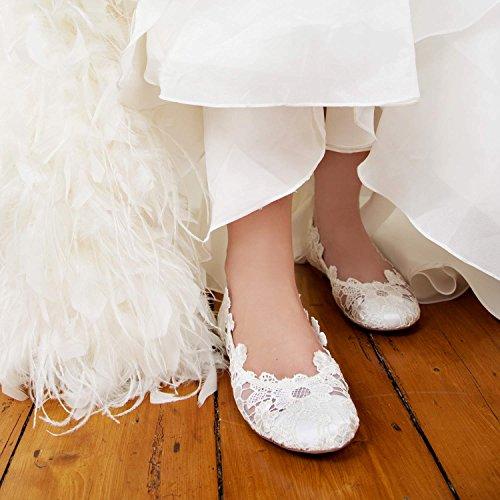 Perfect ballerines de mariage femme Erin